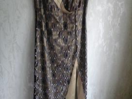 Išskirtinio dizaino vakarinė suknelė