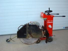 Motopjaustyklės, grindų pjovimo mašinos nuoma