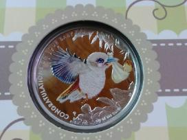 50 sentu Australija sidabras