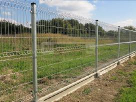 Segmentinės tvoros. Aukšta kokybė, gera kaina - nuotraukos Nr. 4
