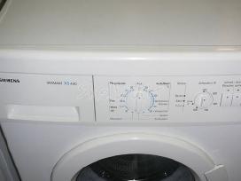 Siaura siemens skalbimo masina - nuotraukos Nr. 4