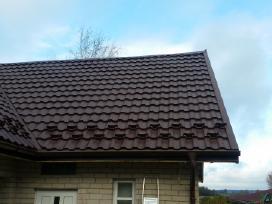 Aukštos kokybės stogo danga, dengimo darbai