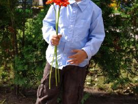 Reserved rudos kelnės 92cm 1,5-2m