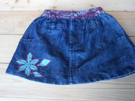 Plonos džinsinės medžiagos sijonukas