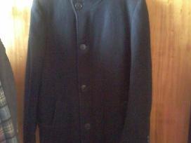 Siūtas vyriškas paltas, 2 metrų ūgiui.