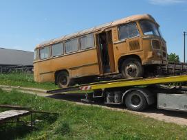 Tralas Platforma, Krovinių Traktorių vežimas 16,5t - nuotraukos Nr. 4