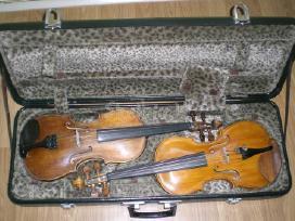 Parduodamas 4/4 meistro darbo smuikas,strykai.
