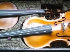Parduodamas 4/4 meistro darbo smuikas,strykai. - nuotraukos Nr. 2