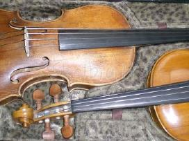Parduodamas 4/4 meistro darbo smuikas,strykai. - nuotraukos Nr. 3