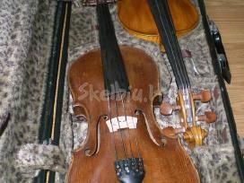 Parduodamas 4/4 meistro darbo smuikas,strykai. - nuotraukos Nr. 4