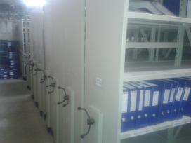 Naudoti mobilus archyvo stelazai