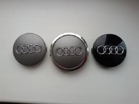 Audi ratlankiu 60mm ir 68mm dangteliai 4vnt-10eur