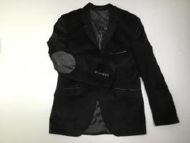 Naujas įdomus juodas švarkas