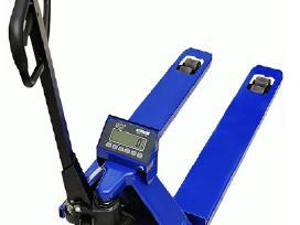 Hidrauliniai vežimėliai su svarstyklėmis