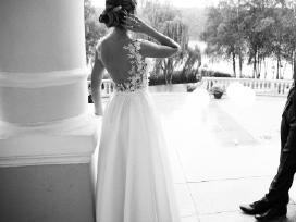 Vestuvinė suknelė siūta pagal ind. užs. (36/8/s)