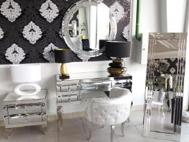Veidrodžiai ,konsolės,komodos, veidrodiniai baldai