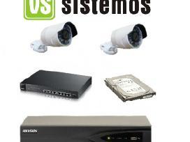 Hikvision Stebėjimo kameros vidaus ir lauko Fullhd
