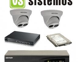Hikvision Stebėjimo kameros vidaus ir lauko 5mpix