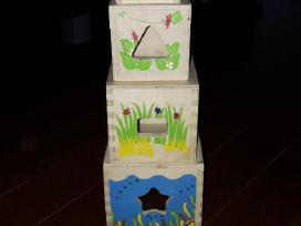 Parduodu lavinamuosius žaislus - piramidė