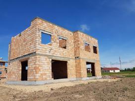 Mūro darbai, namų statyba, statybos darbai