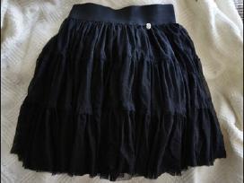 Rauktas tiulio sijonas