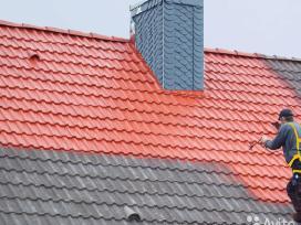 Šiferiniu,čerpiniu,skardiniu,stogu dažymas