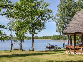 Poilsis prie ežero, namelis nuo 60€