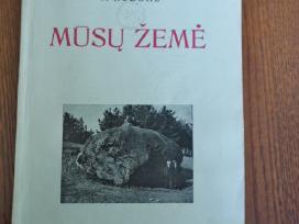Mūsų žemė - V. Ruzgas. 1936m.
