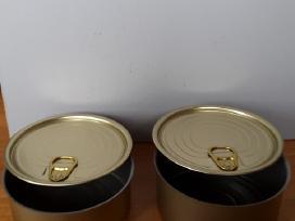 Metalinės konservų dėžutės