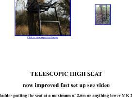 Nesiojamas telescopinis bokstelis medzioklei - nuotraukos Nr. 3