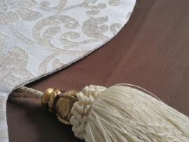 Terasu ir pavesiniu užuolaidu siuvimas