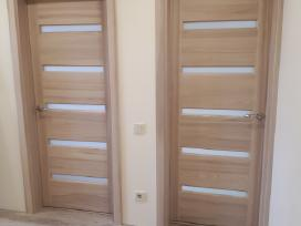 Profesionali medžio masyvo durų gamyba.