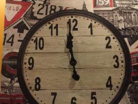 Naujas sieninis laikrodis-paveikslas 70cmx70cm