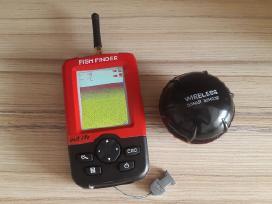 Naujas belaidis echolotas sonaras Fish Finder