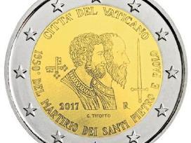 Vatikanas 2 eurai 2017