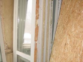 Naudotos balkonines durys