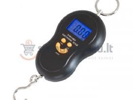 Elektroninės svarstyklės iki 50kg (2 rūšys)