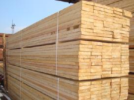 Pjauname statybinę medieną