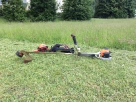 Žolės, vejos pjovimas gyvatvorių karpymas Vilniuje