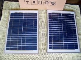 Saulės elektros baterija 20w jėgainė - elektrinė - nuotraukos Nr. 3