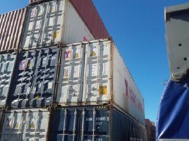 Juriniai konteineriai 40dc, 40hc, 40hcpw, 45hcpw