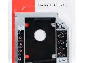 HDD caddy ispardavimas 9.5mm ir 12.7mm