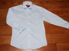 Klasikiniai marškiniai 128 cm dydžio