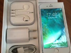 iPhone 6- 64 GB Silver Idealus su komplektu!