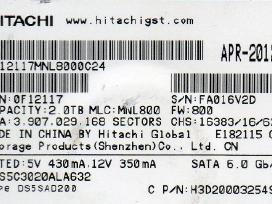 "Hitachi 3,5"" HDD 220 0a90302 01, 0j11430 Ba3895c"