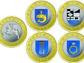 2012 metų rinkinys Lietuvos kurortams (spalvotas)
