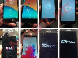 Telefonų remontas taisymas, ekranų stiklų keitimas