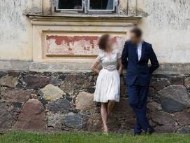 Trumpa, lengvutė vestuvinė