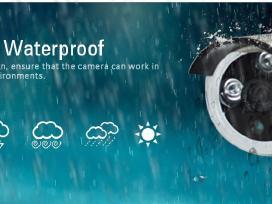 Belaidė/laidinė1.3mp(HD) stebėjimo kamerų sistema - nuotraukos Nr. 3