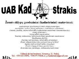 """UAB """"Kadastrakis"""" Geodezija Inventorizacija"""